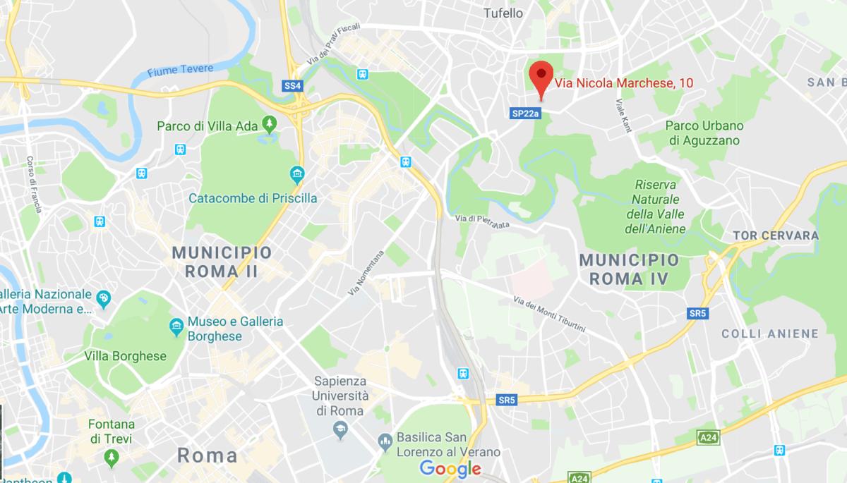 EQUITER SRL ROMA GOOGLE MAPS