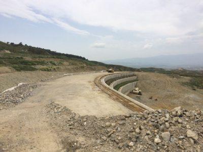 Crotone Strada Provinciale Muri di Sostegno 02