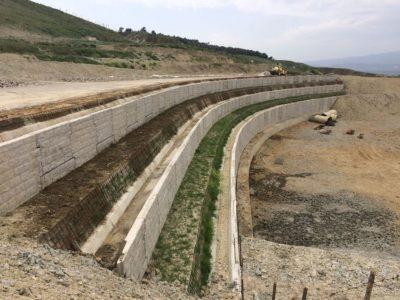 Crotone Strada Provinciale Muri di Sostegno 03