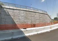 Milano Muri Sostegno Terra Armata - Riqualifica Cartatteristiche Autostrada 04